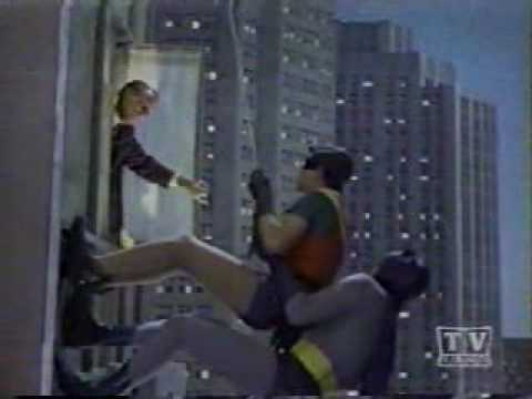 Thumbnail: 1966 The Complete Batman Guest star window cameos (14) on the batclimb