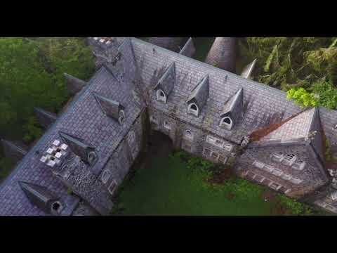 Abandoned castle upstate New York