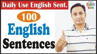 English Speaking Course in Hindi | Daily Use English Sentences : Daily Speaking English Practice