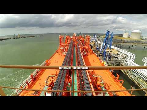 Liquefied Ethylene Gas Carrier trip