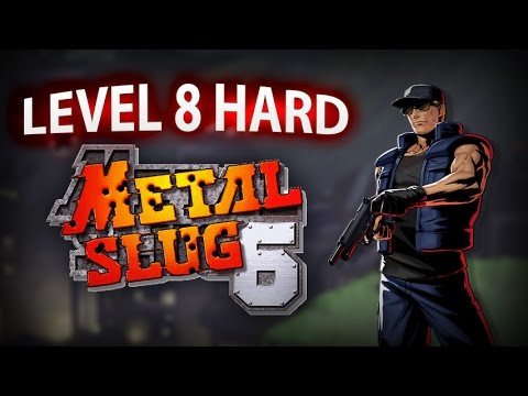 Metal Slug 6 Level 8 Hard Mode (Clark) Played by Challenger