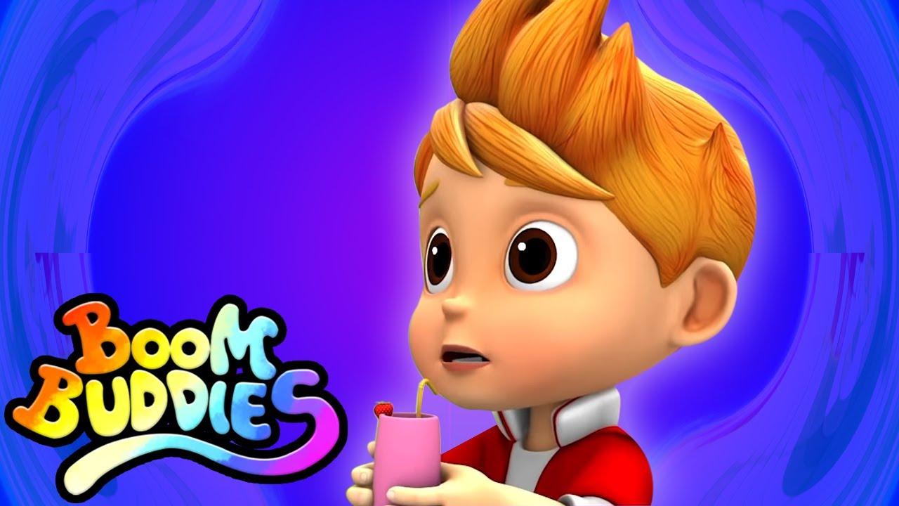 No no canción | Dibujos animados | Educación | Boom Buddies Español | Musica para bebes