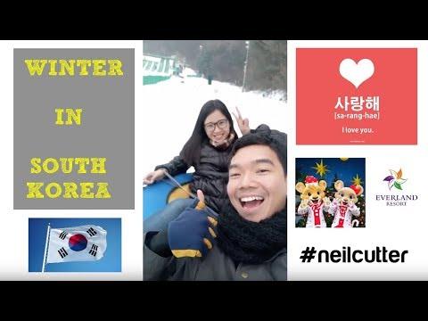 Everland Snow Winter 2017 Seoul, South Korea
