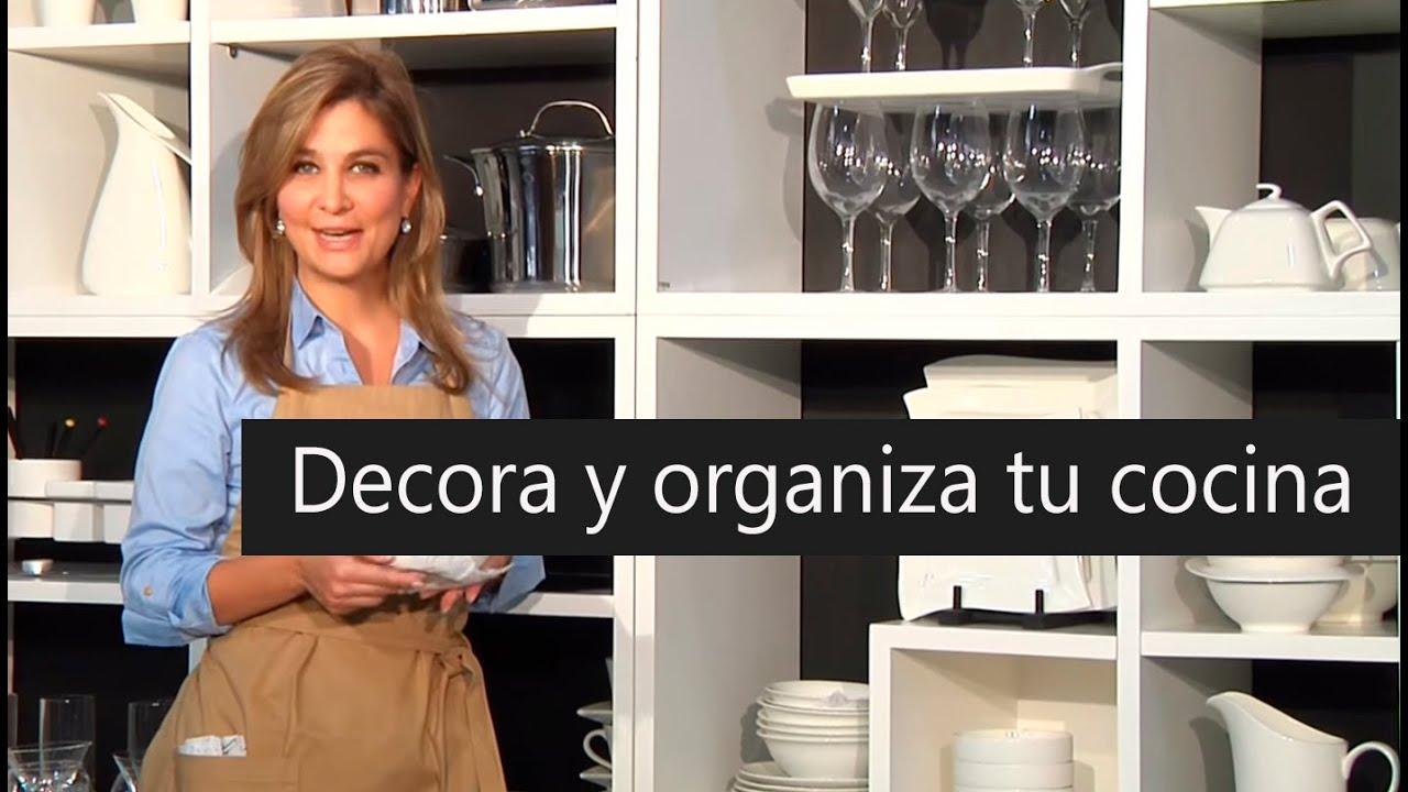 Tip. Decora y organiza tu cocina - YouTube