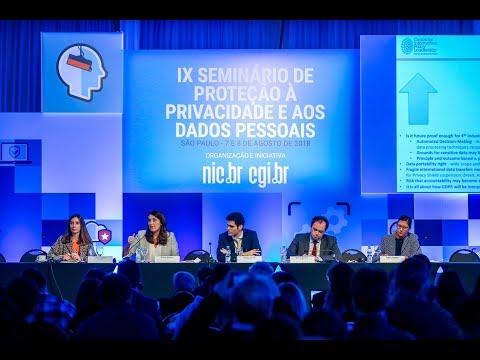 [IX Seminário de Privacidade] Painel 1: General Data Protection Regulation (Áudio em Português)