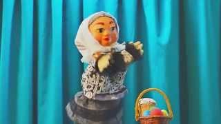 Прикольное видео-поздравление с  Пасхой от бабушки в стихах