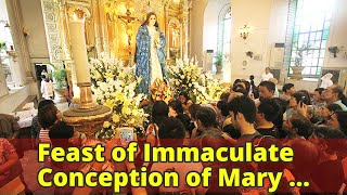 Feast of Immaculate Conception of Mary celebrated on December 8 now special nonworking holiday
