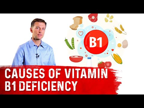 How Do You Become Deficient in Vitamin B1 (Thiamine)?