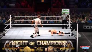WWE Night Of Champions 2014 Sheamus vs Cesaro United States Championship match Result