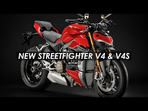 New 2020 Ducati Streetfighter V4 & V4S: Everything You Need To Know