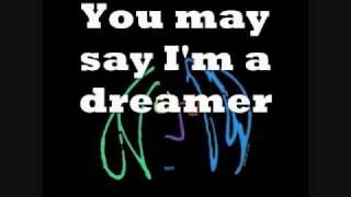 Imagine John Lennon Instrumental with Lyrics