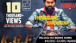 #KGF Tharagani Baruvaina song //Remix Version //Yash//KGF Film