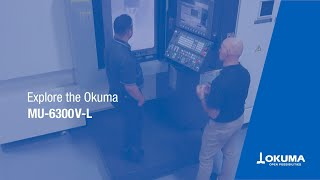 5-axis vertical machining center mu-6300v-l demonstration【okuma corporation japan】