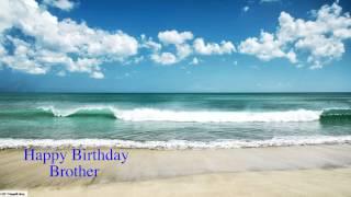 Brother - Happy Birthday - Nature - Happy Birthday