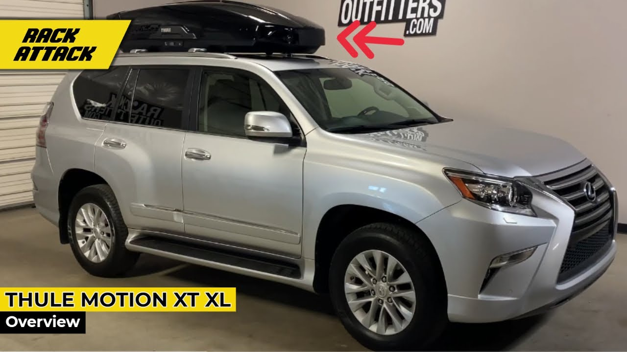 2010 2020 lexus gx outfitted with thule motion xt xl cargo box