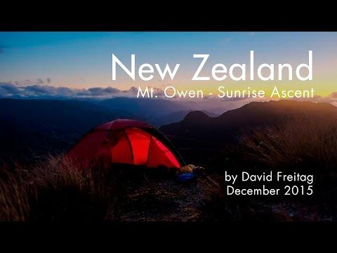 New Zealand: Mt. Owen - Sunrise Ascent