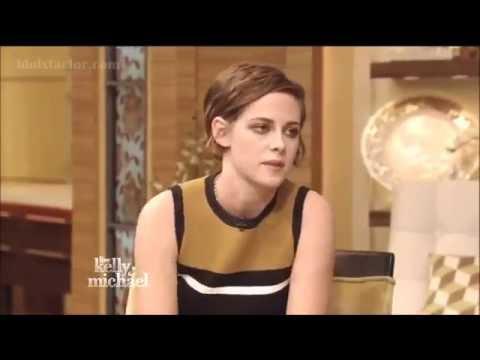 Kristen Stewart on Live! With Kelly & Michael