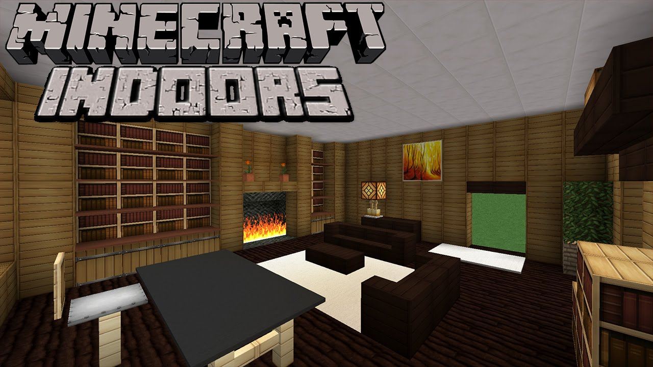 Minecraft Indoors Elegant Home Office S2e5 Youtube