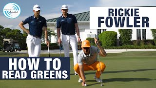 RICKIE FOWLER - HOW I READ GREENS | ME AND MY GOLF
