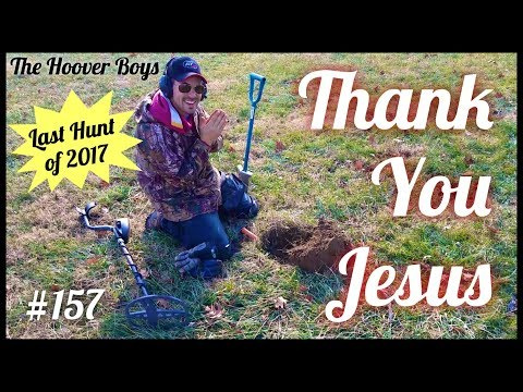 """Last Treasure Hunt of 2017! Bill joins """"the club"""" Thank You Jesus"""