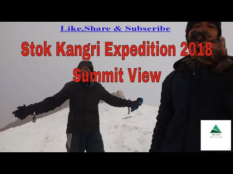 stok kangri summit 2018