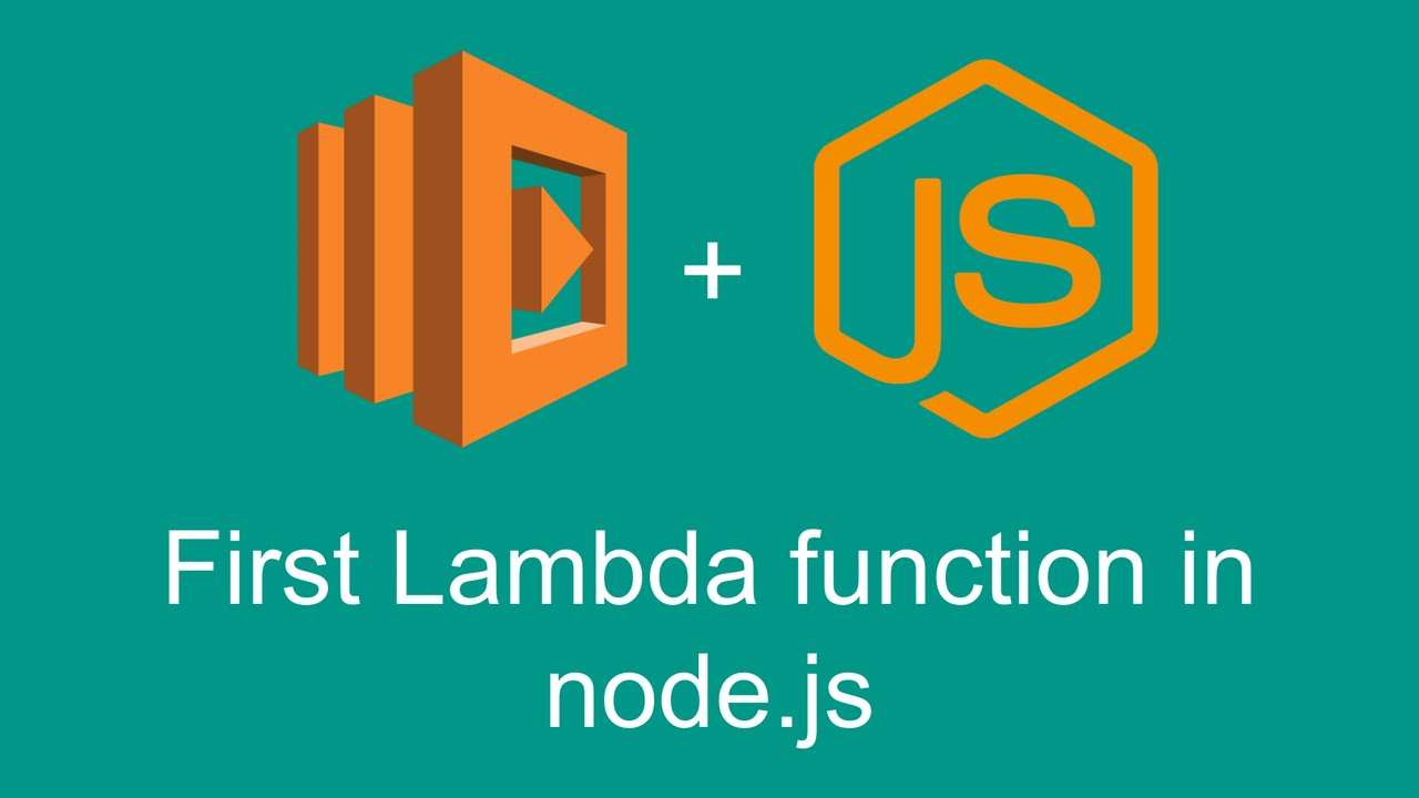 First Lambda function in node js (Getting started with AWS Lambda, part 2)