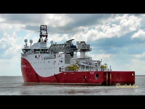 offshore supply vessel SIEM MOXIE LARE7 IMO 9676216 Emden seabound