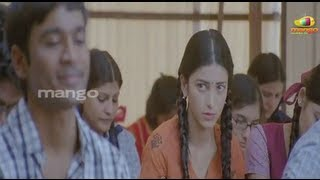 Dhanush & Shruti hassan in the tuition - 3 movie scenes