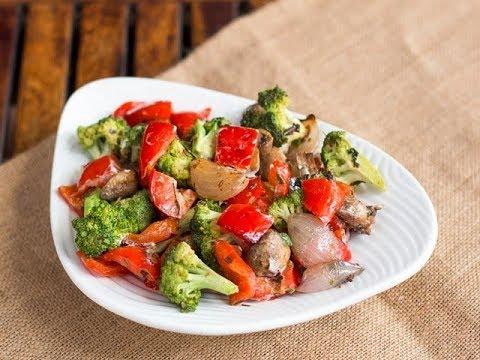 Broccoli And Mushroom Jalfrezi/ How To Make