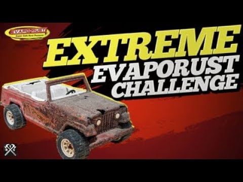 Extreme Evaporust Challenge - Rust Remover Put To The Test