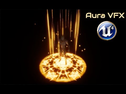 Magic Aura Effect - Particle System - [UE4  Tutorial]