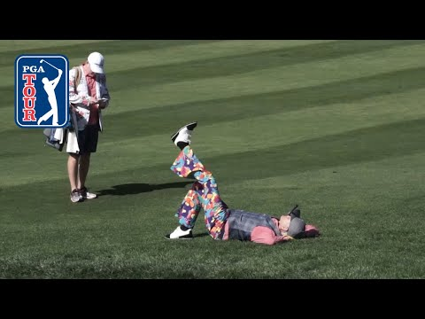 Best of Bill Murray in Round 3 at AT&T Pebble Beach