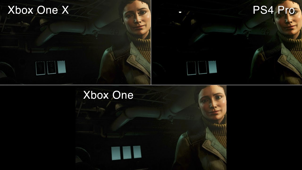xbox one x vs ps4 pro mit wolfenstein 2 the new colossus. Black Bedroom Furniture Sets. Home Design Ideas