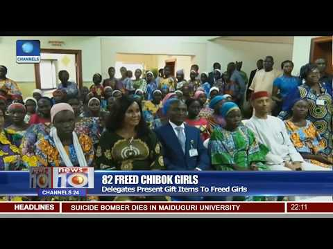 House Of Reps Members Visit Freed Chibok Girls At DSS Clinic