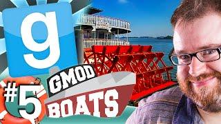 GMod Boats #5 - Steamboat Pernus (Garry's Mod)