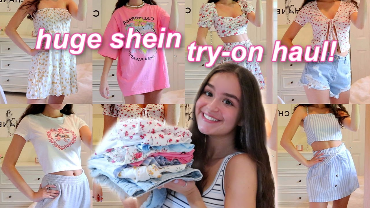 huge shein summer try-on haul! *affordable & cute clothes*