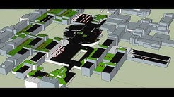 University of Oulu Linnanmaa campus rooftop PV installation concept plan