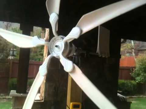 Ceiling fan alternator generator gradschoolfairs ceiling fan wind turbine generator alternator free energy you aloadofball Images