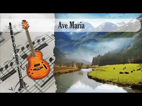 Partirura Ave Maria Duo Clarinete Soprano y Guitarra Acústica