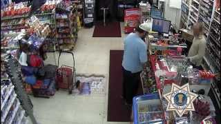 Armed Robbery Video -  Public assistance needed identifying a suspect