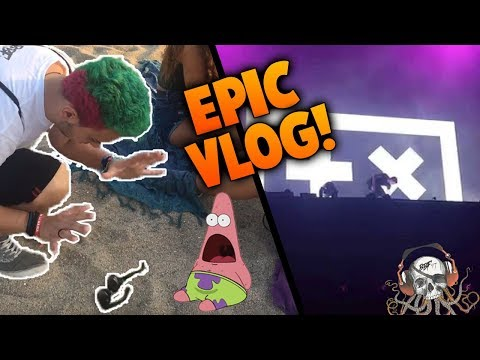 EPIC VLOG! |Barcelona Beach Festival 2017 | con THEROKER de GOT TALENT | P.2|