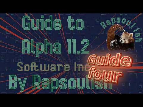 Guide four to Software Inc. Alpha 11.2 | Project Management and Automation.