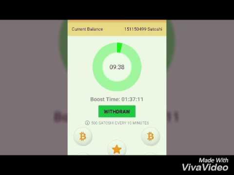free satoshi/btc/bitcoin with android faucet apk - YouTube