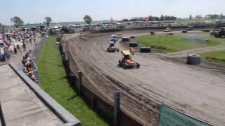 Sky view Dirttrack Speedway Circuit FAC autocross Wolsum Blauwhuis