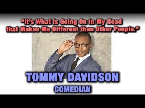 Tommy Davidson discusses Clarity after Addiction.