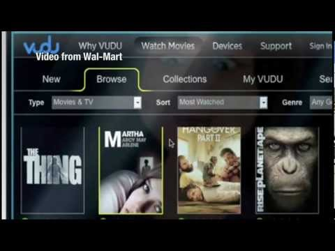 Wal-Mart to offer digital movie content