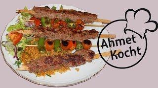 Adana Kebab mit Bulgur | AhmetKocht | türkisch kochen | Folge 225