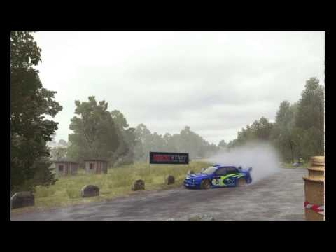 Dirt Rally Subaru Impreza 2001 Scandinavian Flick & Burnout Big Time