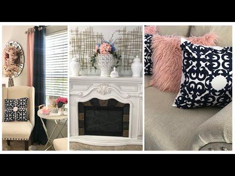 Spring/Summer Living Room Refresh 2020 #livingroomtour #homedecor #springsummerrefresh #decorideas