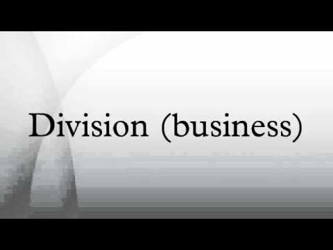 Division (business)